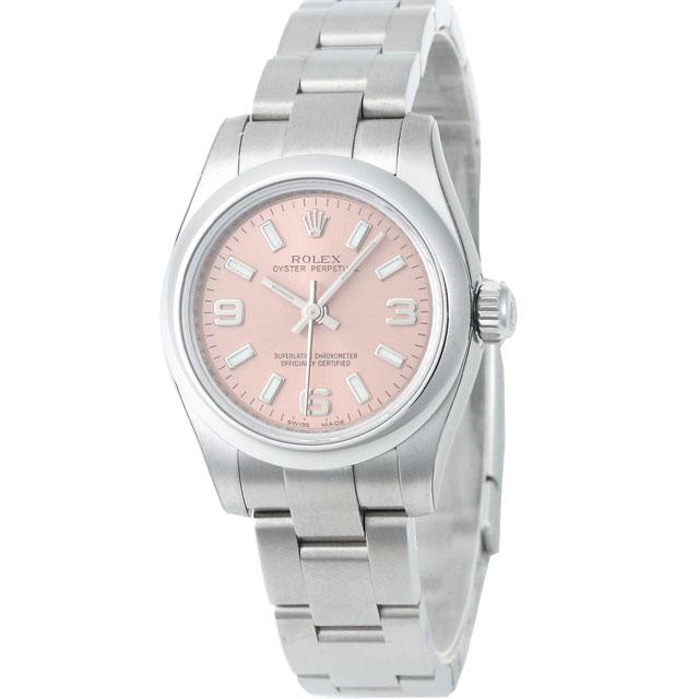 best service f10d8 b189c ROLEX オイスターパーペチュアル レディース 腕時計 ピンク ...