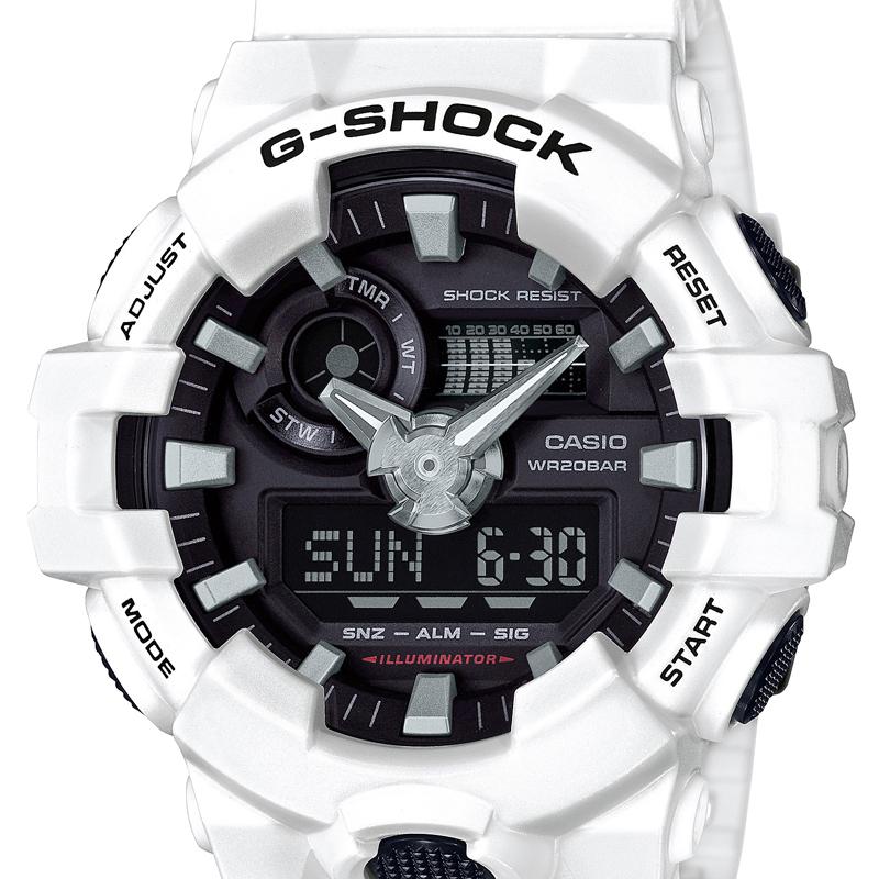 designer fashion de001 ff7ee カシオ CASIO メンズ腕時計 G-SHOCK GA-700-7AJF ブラック ...