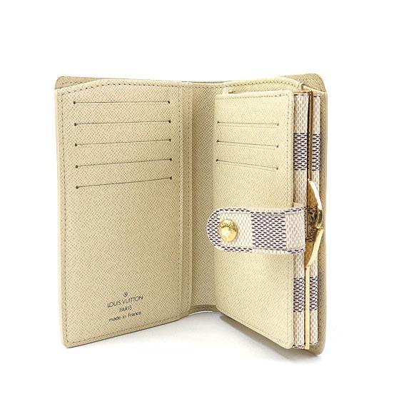 buy popular 77f65 538d5 LOUIS VUITTON ルイヴィトン 二つ折り財布 N61676 ダミエ ...