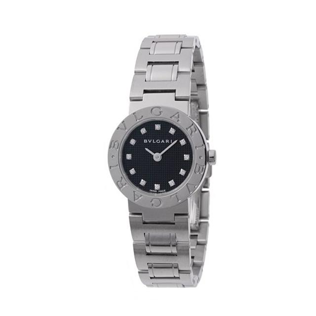 733ee392d0 BVLGARI ブルガリ レディース 腕時計 ブルガリブルガリ ブラック BB23BSS/12 ...
