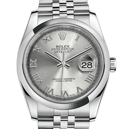 official photos 3f98a af85d ROLEX デイトジャスト メンズ 腕時計 シルバー 116200(シルバー ...