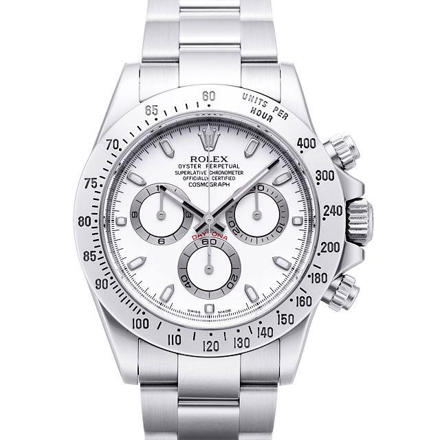 uk availability e8b71 97ad4 ROLEX コスモグラフデイトナ メンズ 腕時計 ホワイト 116520 ...