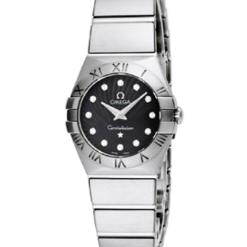 wholesale dealer 2626c 974a5 OMEGA(オメガ) レディース 腕時計 コンステレーション ブラック ...
