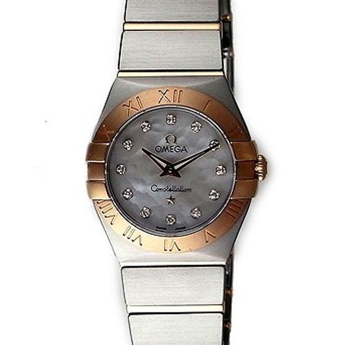 OMEGA(オメガ) レディース 腕時計 コンステレーション ホワイト/パール 123.20.24.60.55.001