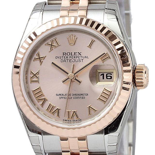 competitive price 343de 49177 ROLEX デイトジャスト レディース 腕時計 ピンク 179171(ピンク ...