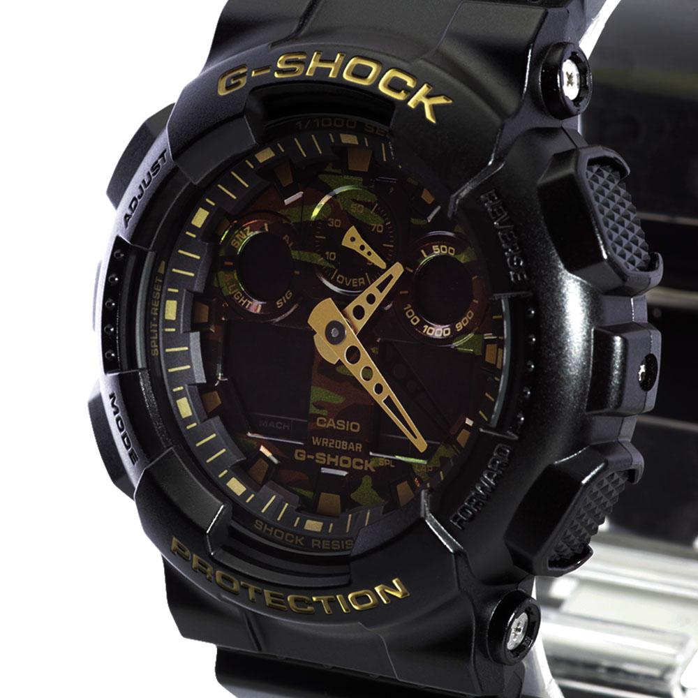 info for d47e8 727df CASIO G-SHOCK 腕時計 GA-100CF-1A9JF: 腕時計|ブランド ...