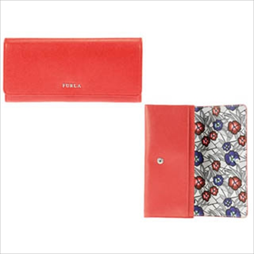 innovative design 804ee 8fa4b FURLA フルラ 二つ折り長財布 PO35-ARE RUBY(RUBY): 財布 ...