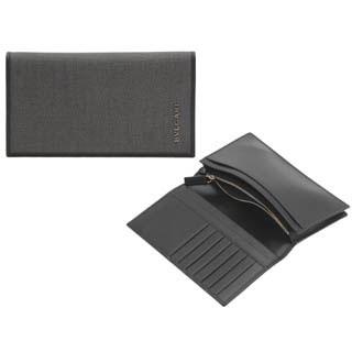 buy popular ad6d6 81af8 BVLGARI ブルガリ 長財布 メンズ ブラック 32582(ブラック ...