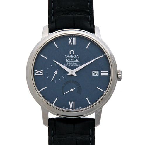 OMEGA(オメガ) メンズ 腕時計 デ・ビル ブルー 424.13.40.21.03.001