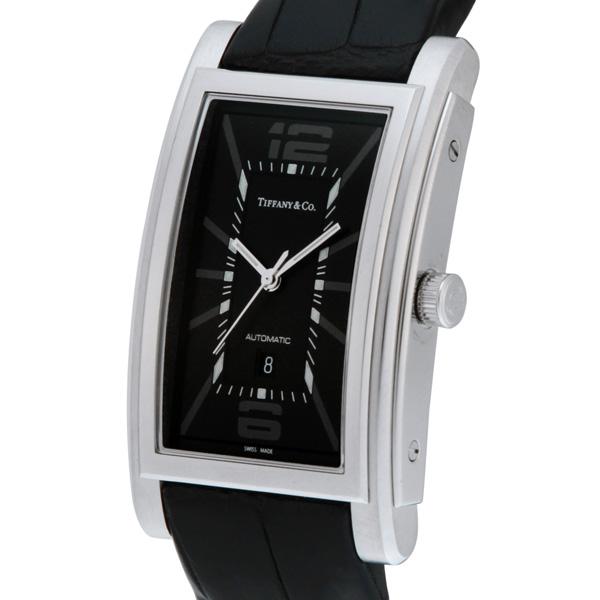 new arrival e53a0 f73ea Tiffany & Co. ティファニー 腕時計 メンズ Grand ブラック ...