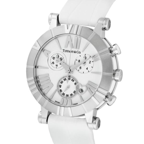 low priced a3eff dcf6a Tiffany & Co. ティファニー 腕時計 レディース Atlas Chrono ...