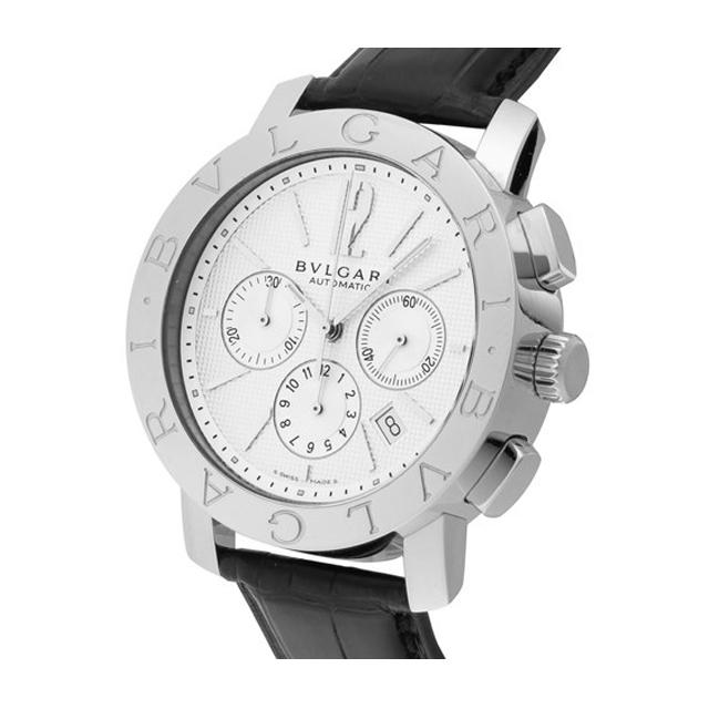 best service 7eef6 ab518 BVLGARI ブルガリ メンズ 腕時計 ブルガリブルガリ ホワイト ...