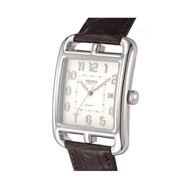 quality design 1b288 cf818 HERMES エルメス メンズ 腕時計 ケープコッド シルバー CD6 ...
