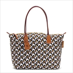 ROBERTA PIERI ロベルタピエリ トートバッグ CUBE3 TAUPE LARGE TOTE