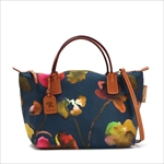 ROBERTA PIERI ロベルタピエリ トートバッグ FLOWER NAVY SMALL DUFFLE