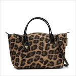 ROBERTA PIERI ロベルタピエリ トートバッグ LEOPARD BROWN SMALL DUFFLE