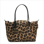 ROBERTA PIERI ロベルタピエリ トートバッグ LEOPARD BROWN LARGE TOTE