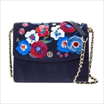 トリーバーチ Tory Burch ショルダーバッグ PARKER EMBROIDERED CONVERTIBLE SHOULDER BAG 41697 405