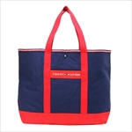 TOMMY HILFIGER トミーヒルフィガー Core Plus TOTE トートバッグ NAVY / RED/RED 6923662