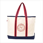 TOMMY HILFIGER トミーヒルフィガー Judith Print LARGE TOTE トートバッグ RED / NATURAL 6927899