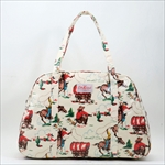 Cath Kidston キャスキッドソン WEEKEND BAG レディース ハンドバッグ Cowboy Old White 380553