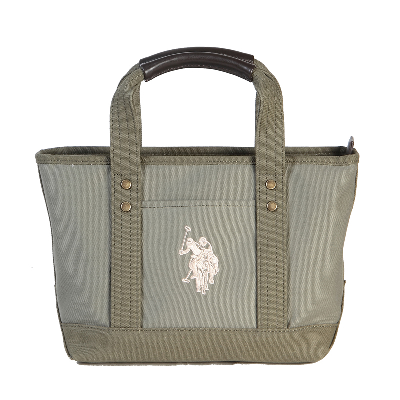 0a54016463 ユーエスポロアッスン U.S. POLO ASSN. ハンドバッグ REVIVAL TOTE US1862 KAHKI